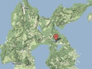 Soroako di pulau Sulawesi