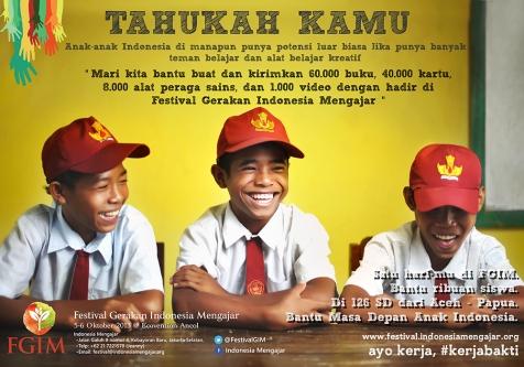 Festival Gerakan Indonesia Mengajar