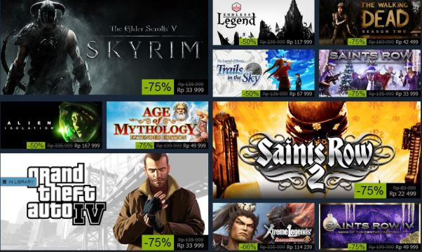 Steam Winter Sales