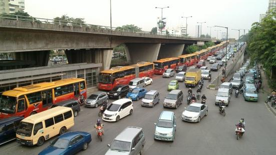 Jakarta-traffic